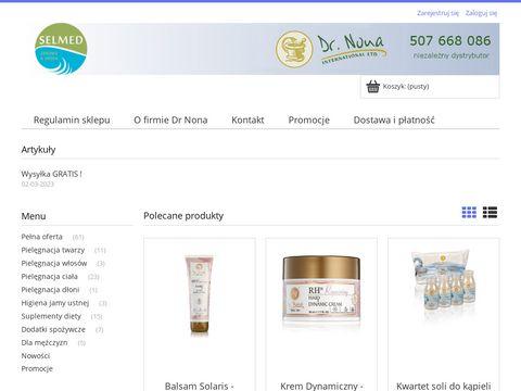 SELMED - sklep z produktami Dr. Nona