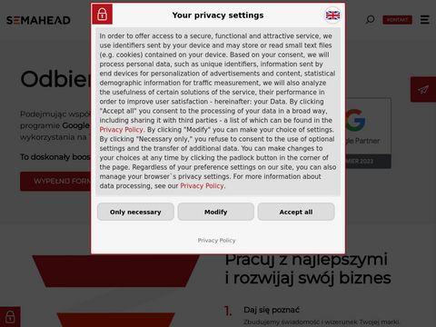 Agencja SEM - Semahead.pl