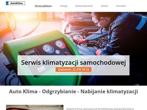 Serwis klimatyzacji samochodowej Warszawa - naprawa auto klimy