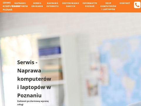 Skup i serwis komputerów w Poznaniu