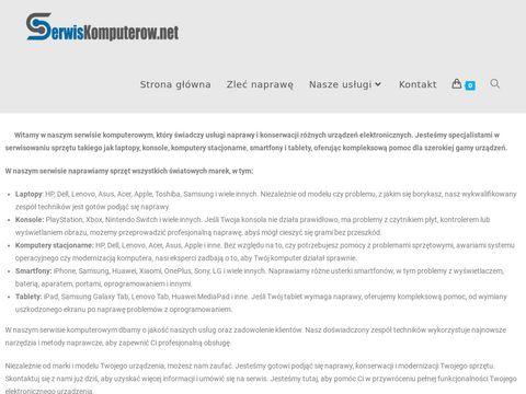Naprawa Laptop贸w - Serwis Laptop贸w - 艁贸d藕