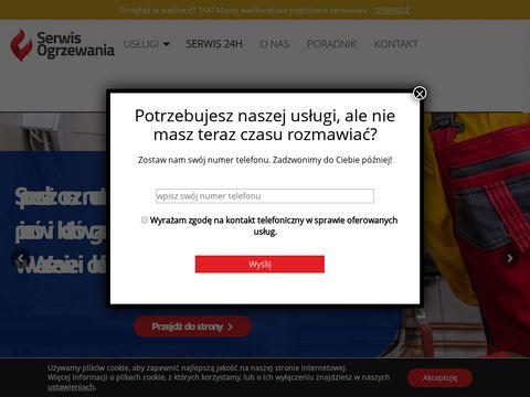 Serwis kotłów Immergas, De Dietrich Warszawa - Proserwis