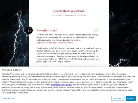 Sezon Burz - Strona poświęcona najnowszej części Wiedźmina