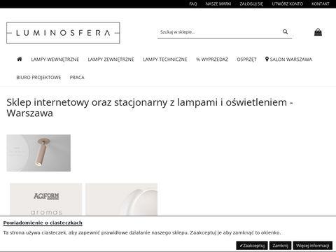 Sferalumina – sklep z oświetleniem