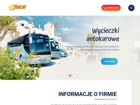 Www.simon.travel.pl wynajem autokarów