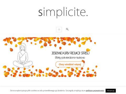 Simplicite - blog lifestylowy