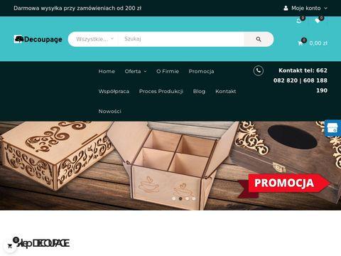 Sklep-decoupage.pl akcesoria metalowe