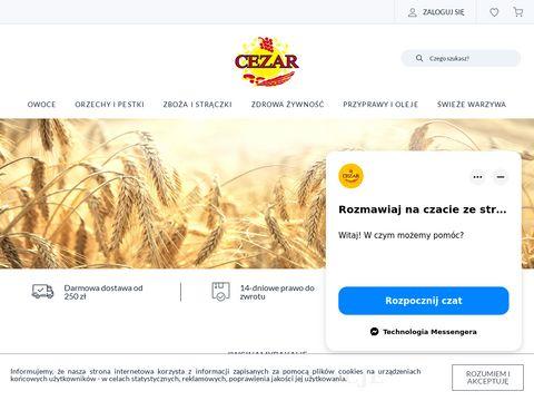 PHU CEZAR Tomasz Banaszek - suszone owoce
