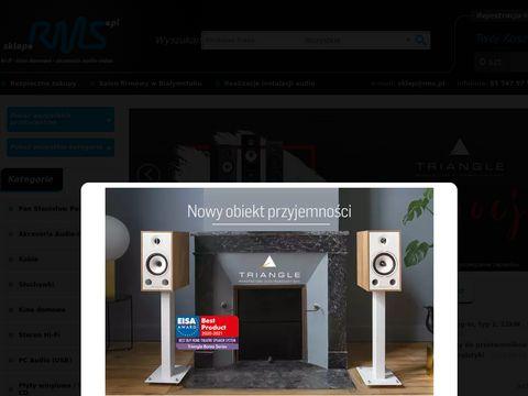 sklep.RMS.pl - technologie audiovideo (Profigold, Tech+Link, Vogels, Sennheiser, Jamo, itd.)