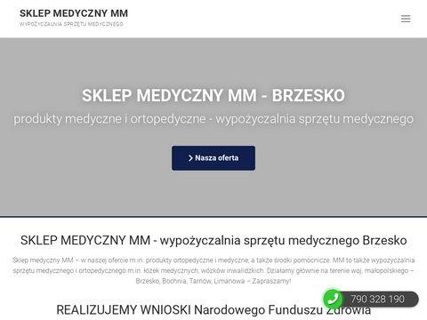 Sklep Medyczny MM wypożyczalnia sprzętu medycznego Brzesko Bochnia