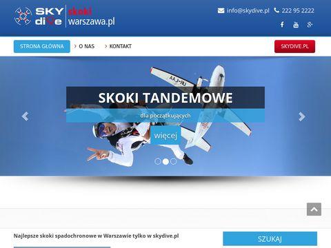 Skokiwarszawa.pl - skoki tandemowe Warszawa
