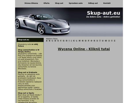 Skup aut we Wrocławiu