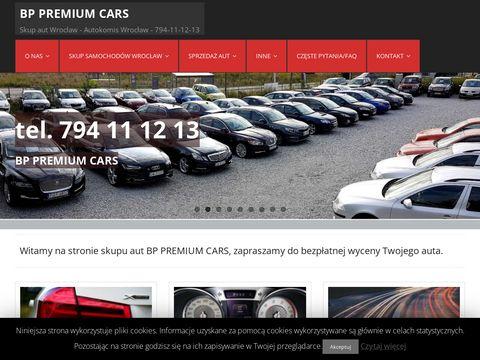 Autokomis skup aut Wroc艂aw BP PREMIUM CARS