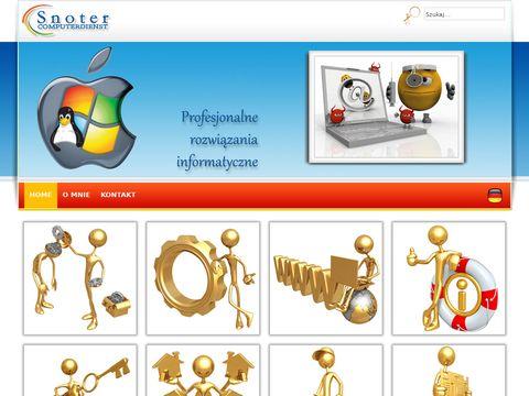 Snoter Computerdienst - Profesjonalna pomoc komputerowa w Wiedniu