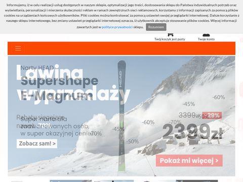    www.snowsport.pl    Zimowy sprz臋t sportowy    S