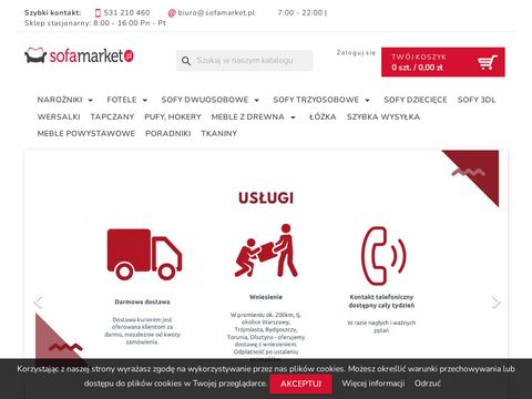 Sklep z sofami - sofamarket.pl