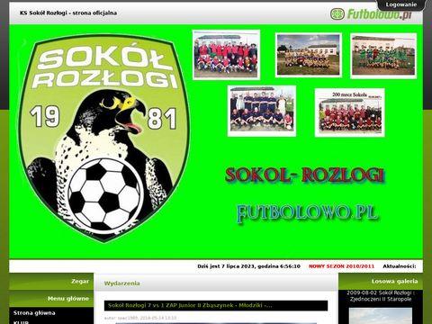 Strona klubowa Sokół Rozłogi - Oficjalna Strona Klubu. Aktualności, wyniki, mecze, tabele i statystyki.