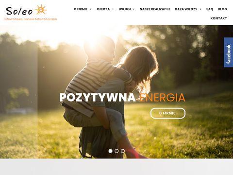 Ekologiczna energia – panele fotowoltaiczne