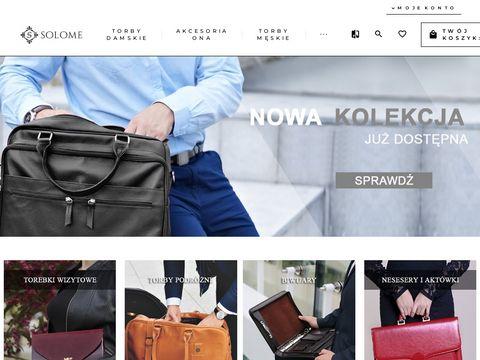 Solome odzież i obuwie skórzane online