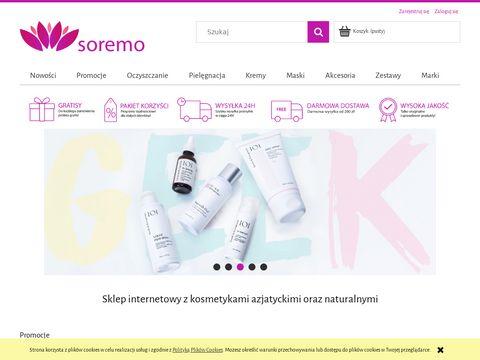 Kosmetyki azjatyckie - SOREMO