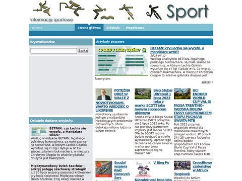 Sport - Informacje