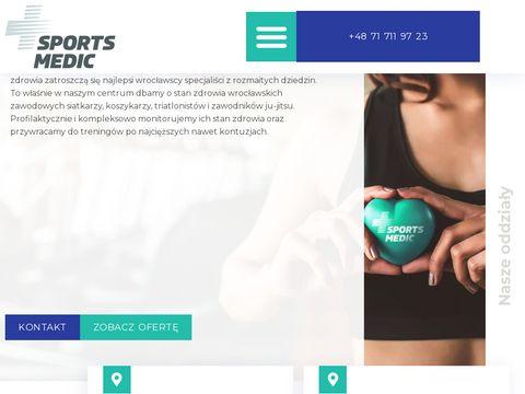 Centrum Medyczne Sports Medic Wroc艂aw