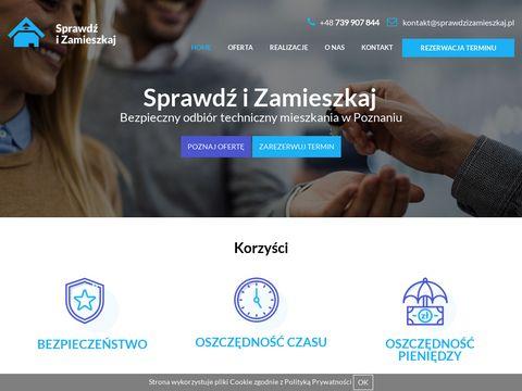 Sprawdzizamieszkaj.pl - Odbi贸r techniczny lokalu