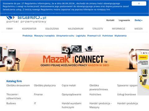 Staleo.pl - Portal kooperacyjny branży metalowej i stalowej