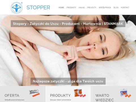 Producent i Hurtownia stoperów, zatyczek do uszu STANMARK