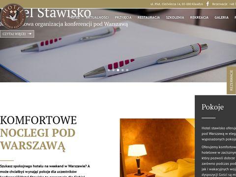 Hotel Stawisko Klaudyn sala konferencyjna warszawa