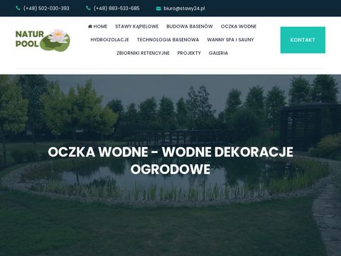 Natur Pool - stawy kąpielowe, ekobaseny, oczka wodne