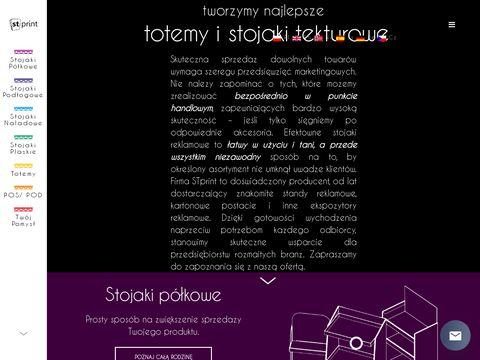 St Print Stojaki tekturowe