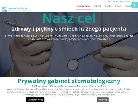Stomatolog-kingabarbarzak.pl