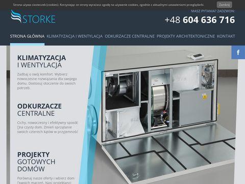 Storke �ódź - Montaż klimatyzacji