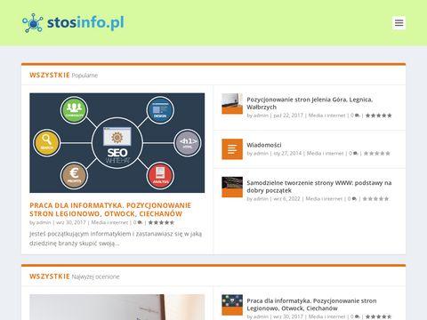 Katalog stron internetowych stosinfo.pl