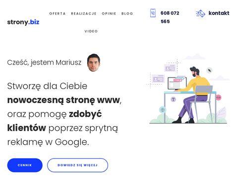 Prowadzenie strony www