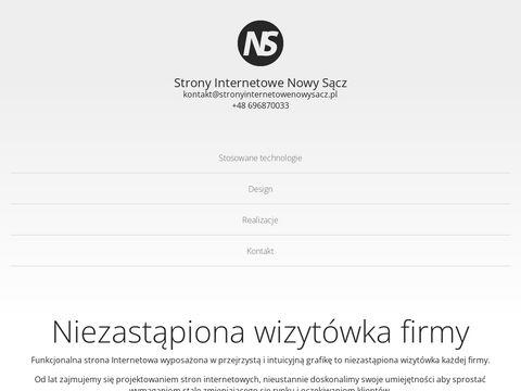 Strony Internetowe Nowy SÄ…cz