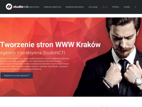 Tworzenie stron i infografik Kraków - StudioNCTI