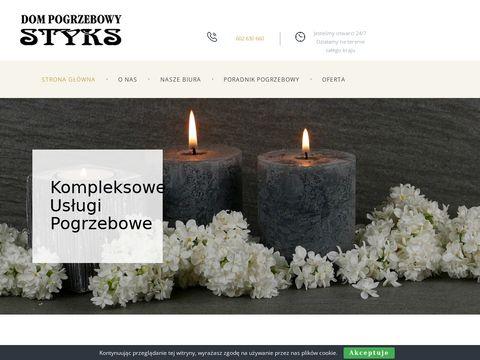 Styks Zak艂ad Pogrzebowy Warszawa