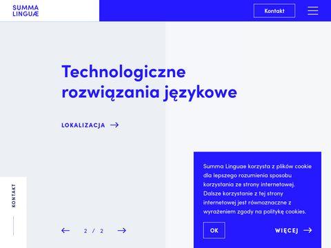 Tłumaczenia specjalistyczne- biuro tłumaczeń summalinguae.pl