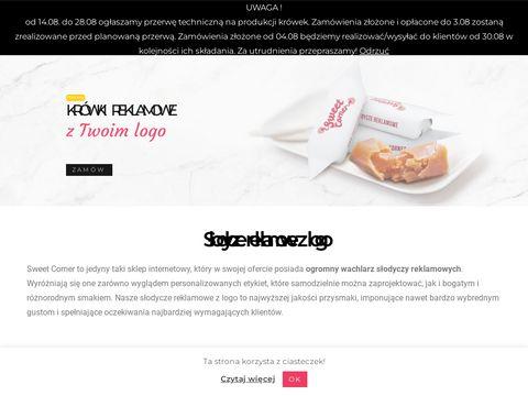 Słodycze z logo - sweet-corner.eu