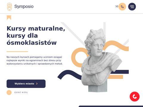 Symposio - kursy maturalne i gimnazjalne we Wroc艂awiu