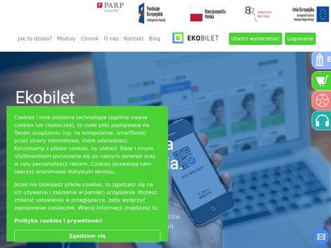 Ekobilet - Internetowy system sprzeda偶y bilet贸w
