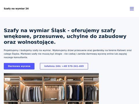 Szafy przesuwne - szafynawymiar24.pl