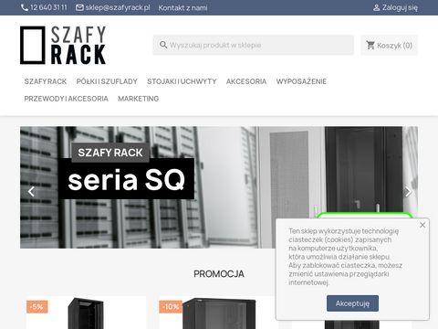 Www.szafyrack.pl - Szafy Teleinformatyczne