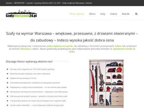 Szafy wnÄ™kowe Warszawa - szafywarszawa24.pl