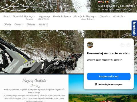 Szarejkowe Wzgórza - Domki Camping Quady i SPA | Mazury | Ferie | na Mazurach