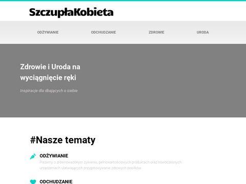 Odchudzanie, Tabletki, Suplementy OdchudzajÄ…ce | SzczuplaKobieta.com