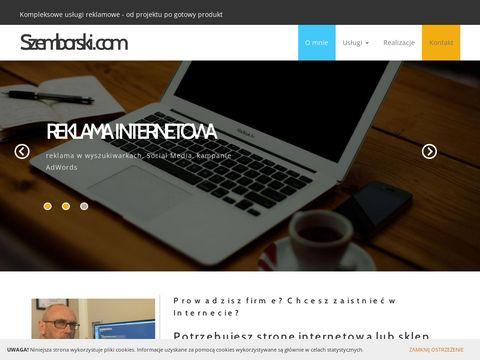 Szemborski.com - strony internetowe, sklepy internetowe, reklama internetowa