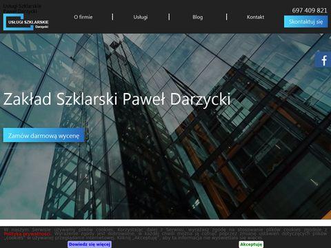 Www.szklarz-darzycki.pl szklarz warszawa